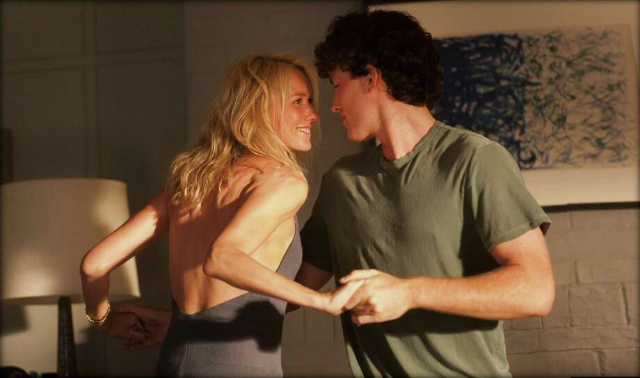 "Naomi Watts and James Frecheville get frisky in ""Adore,"" a film with idyllic views and  bad dialogue. Photo: Exclusive Media"