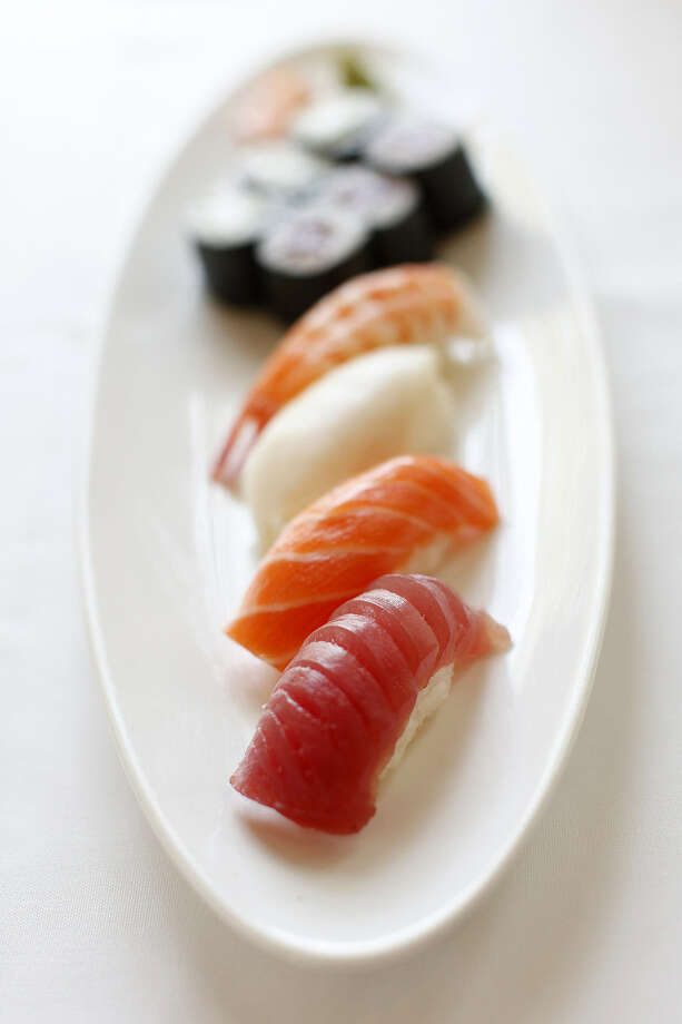 A sushi sppetizer is available at Koi Kawa in Alamo Heights. Photo: Express-News File Photos