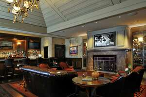 L'Auberge Lake Charles recently debuted a $20 million makeover of 754 guest rooms. This is a private high-roller's lounge off the casino floor.