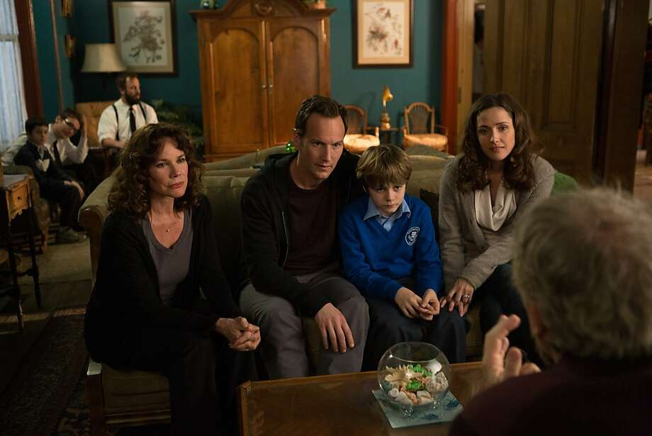 "Barbara Hershey (left), Patrick Wilson, Ty Simpkins and Rose Byrne in ""Insidious: Chapter Two."" Photo: Matt Kennedy, FilmDistrict"