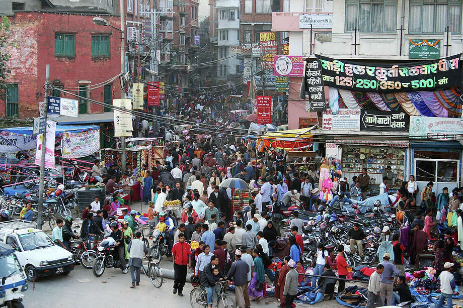 The jury is still out as to whether human overpopulation will become a footnote in history or the dominant ill that stands in the way of all other efforts to achieve sustainability and a kinder, gentler world. Pictured: A crowded street in Kathmandu, Nepal. Photo: Contributed Photo