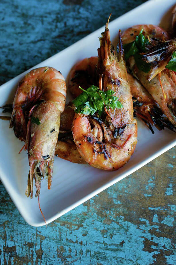 Royal Red Shrimp with garlic butter at Peche Seafood Grill in New Orleans Photo: Chris Granger