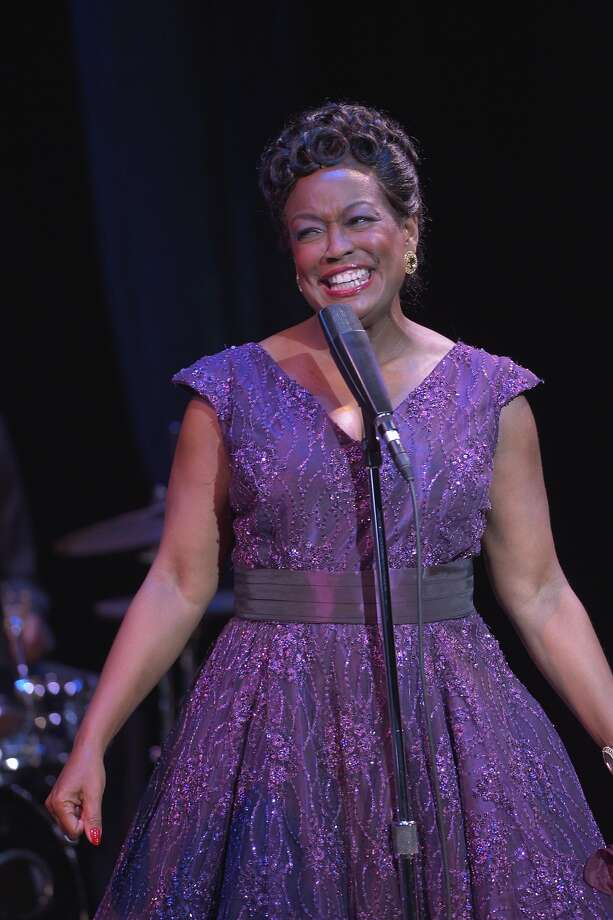 "Yvette Cason as Ella Fitzgerald in ""Ella, the musical"" at Center Rep Photo: Kevin Berne"