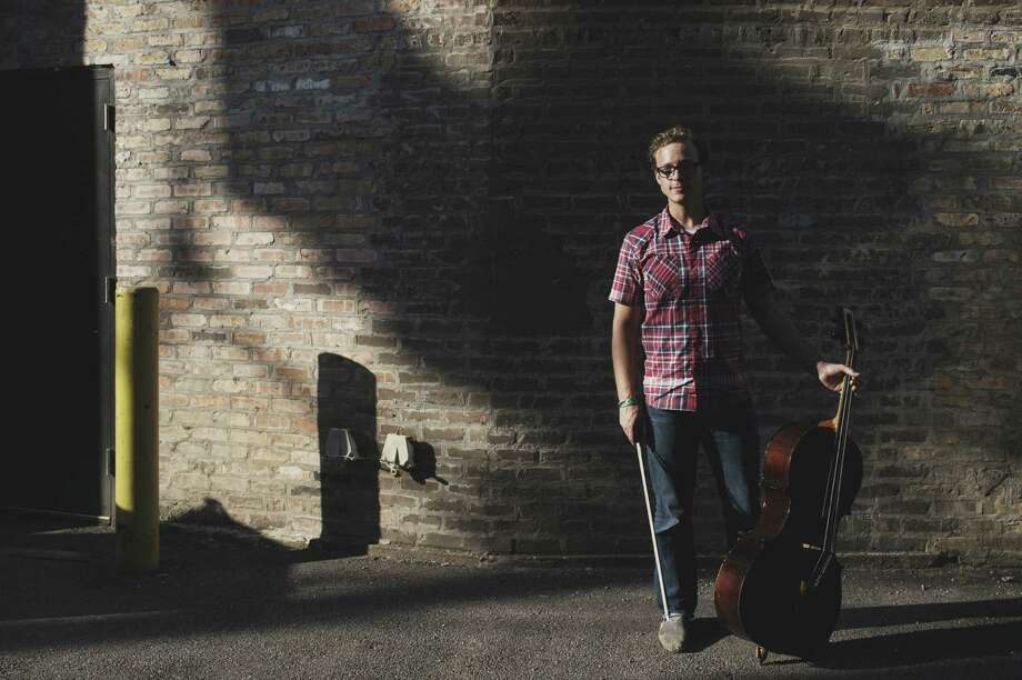 Ben Sollee is a cellist as well as a singer and a songwriter. Photo: Courtesy Magnus Lindqvist