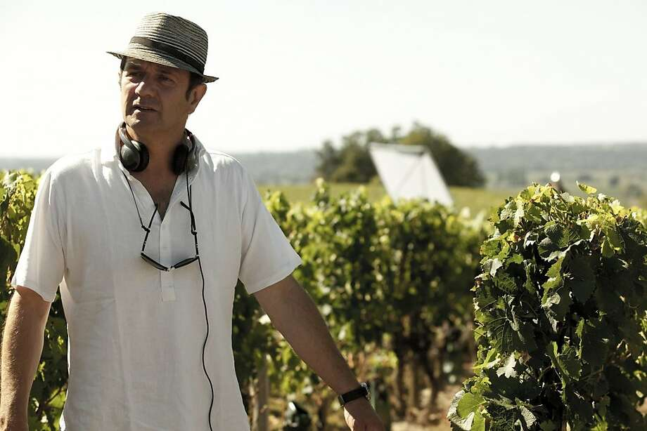 """Gilles Legrand, director of """"You Will Be My Son,"""" learned about the winemaking process firsthand and would like to be a winemaker. Photo: Cohen Media Group"""