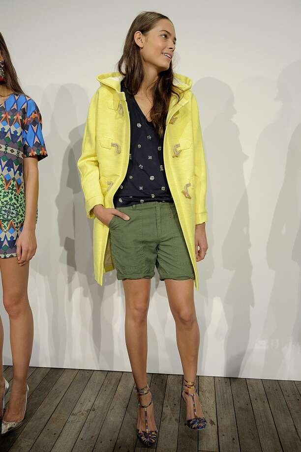 A model walks the runway at the J Crew Spring Summer 2014 fashion show during New York Fashion Week on September 10, 2013 in New York, United States. Photo: Catwalking, Getty Images