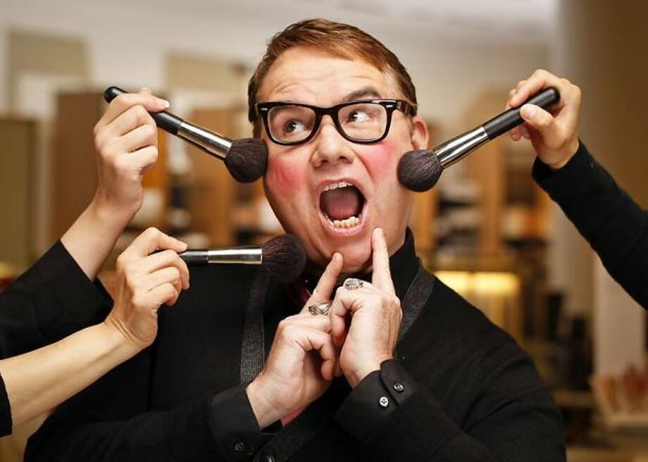 "Bloomingdale's hosts ""The Makeup Date"" hosted by Harvey Helms, author of ""Blush: The Unbelievably Absurd Diary of a Gay Beauty Junkie"" Sept. 12. Photo: Russell Yip, The Chronicle"