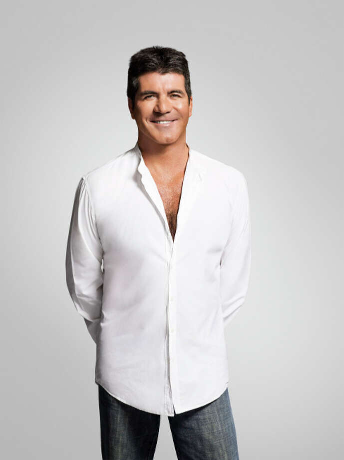 Simon Cowell - Chest exposures.