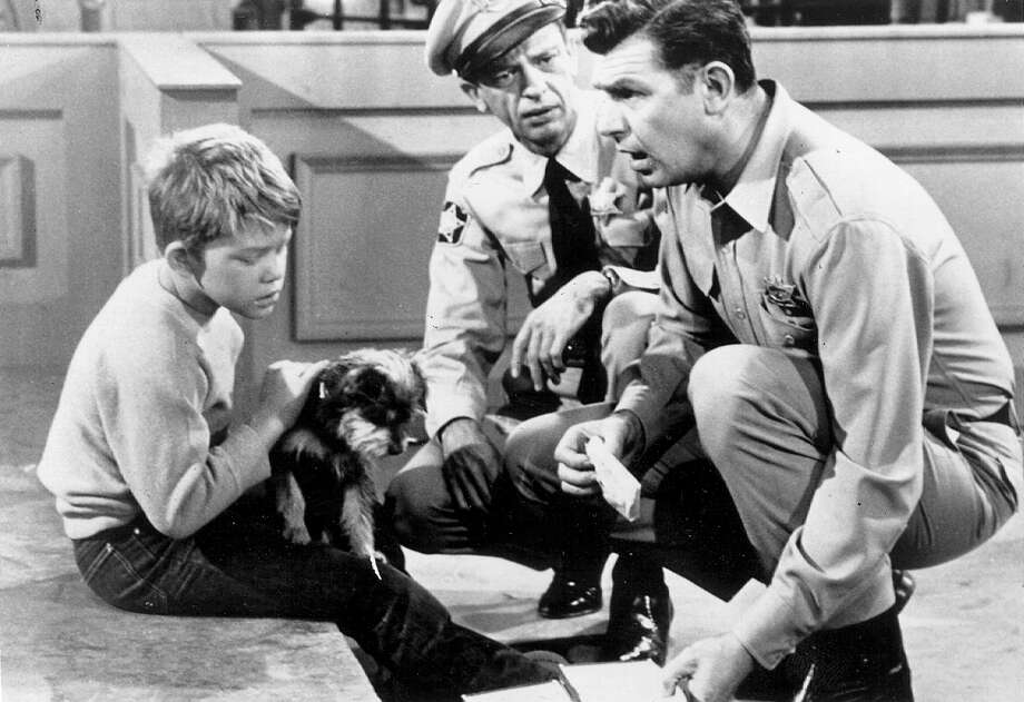 Generational turmoil? Distrust of law enforcement? Racial strife? A sexual revolution? In Mayberry, you'd never know it was the 1960s. Photo: FILE PHOTO / FILE PHOTO