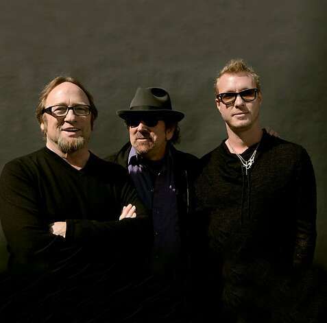 Two veterans of the 1960s music scene, Stephen Stills (left) and Barry Goldberg, have teamed with guitarist Kenny Wayne Shepherd, their junior by three decades, in the blues-rock band the Rides. Photo: Eleanor Stills