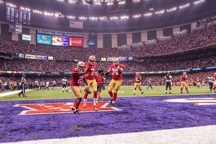 They went to the Super Bowl  We admit, the 49ers are really good. They made it to the Super Bowl last season, and thankfully -- to Seahawks fans -- lost to the Ravens. But the real problem is that the Niners made it to the Super Bowl after the drubbing they suffered at the hands of the Seahawks in December. By the end of the season, the Hawks were far and away the better team -- did San Francisco really deserve to be in the Big Game? Not fair, right? Yeah, life's not fair and especially sports aren't fair, and maybe this comes off as whining. But can Seahawks fans hate the 49ers for it? Yes. Yes they can. Photo: Rob Tringali, Getty Images / 2013 Rob Tringali/SportsChrome