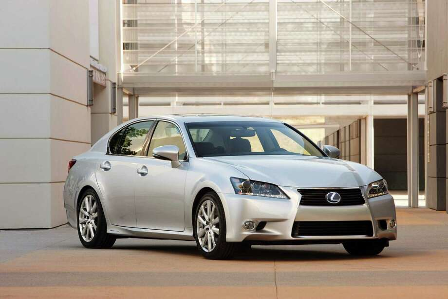 This undated image made available by Toyota shows the 2013 Lexus GS 450h. Photo: Toyota