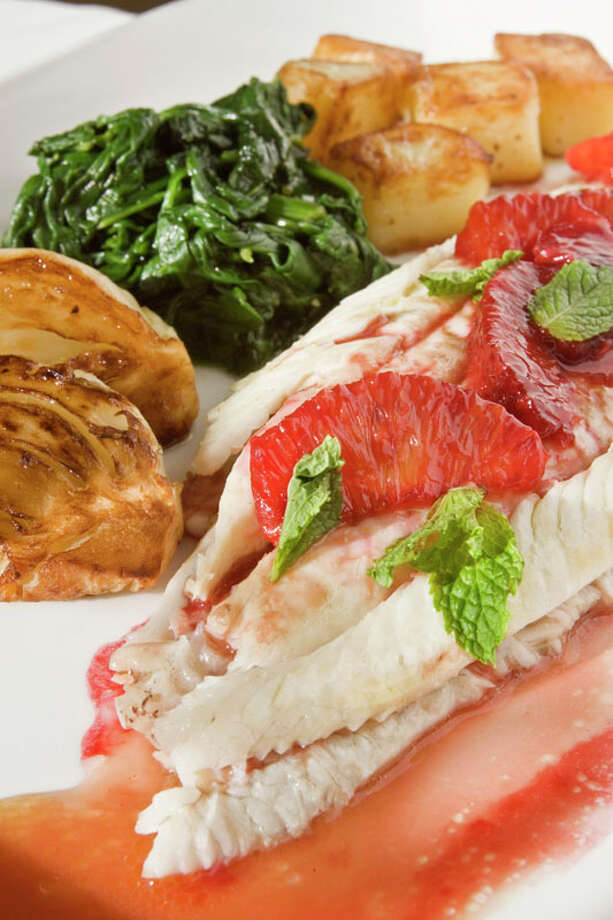 18. Da MarcoCuisine: ItalianDish: Dover sole with blood-orange sauceEntree price range: $$$$Where: 1520 WestheimerPhone: 713-807-8857Website: damarcohouston.comRead Alison Cook's review of Da Marco. Photo: Bill Olive, For The Chronicle / Freelance
