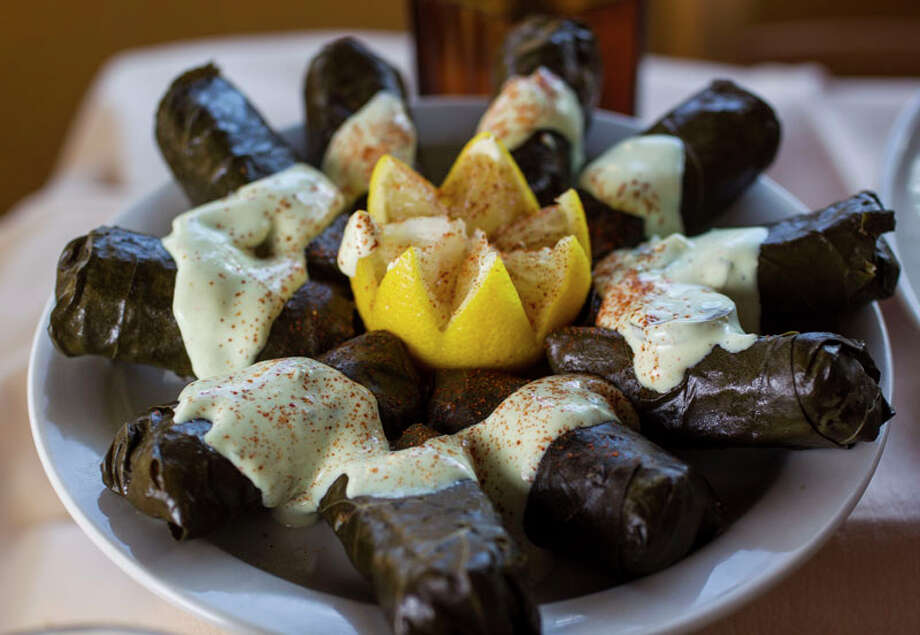 30. RoostCuisine: AmericanDish: grape leaves stuffed with rice, meat and herbsEntree price range: $$Where: 1972 FairviewPhone: 713-523-7667Website: iloveroost.comRead Alison Cook's review of Roost. Photo: Karen Warren, Houston Chronicle / © 2013 Houston Chronicle