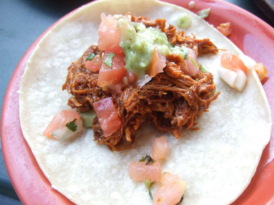 33. Pico's Mex-Mex Cuisine: Mexican, Tex-Mex Dish: chilorio Entree price range: $$ Where: 5941 Bellaire Phone: 713-662-8383 Website: picos.net Read Alison Cook's review of Pico's Mex Mex. Photo: J.C. Reid