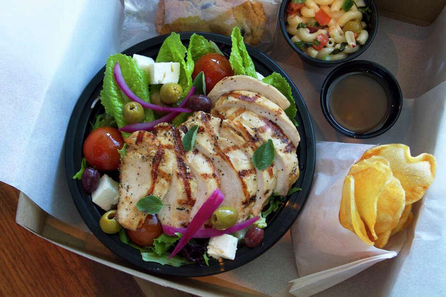 37: Philippe Restaurant & LoungeCuisine: FrenchDish: chicken salad lunch boxEntree price range: $$$-$$$$Where: 1800 Post OakPhone: 713-439-1000Website: philippehouston.comRead Alison Cook's review of Philippe Restaurant & Lounge. Photo: Karl Heim / Karl Heim