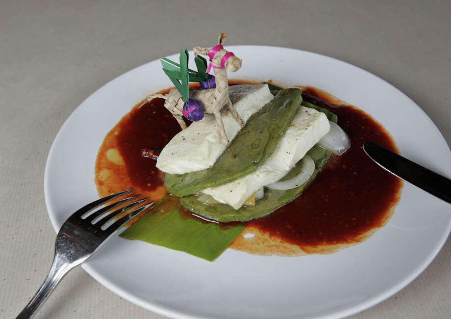 44. Cuchara Cuisine: Mexican, Tex-Mex Dish: Che The Mula de nopal Entree price range: $$-$$$ Where: 214 Fairview Phone: 713-942-0000 Website: cuchararestaurant.com Read Alison Cook's review of Cuchara. Photo: James Nielsen, Houston Chronicle / © 2013  Houston Chronicle