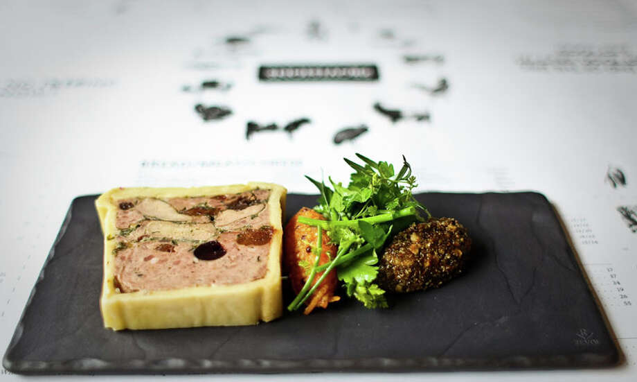 60. Provisions Cuisine: New American Dish: Pate en Croute Entree price range: $$-$$$ Where: 807 Taft Phone: 713-628-9020 Website: passandprovisions.com Read Alison Cook's review of Provisions. Photo: Nick De La Torre, Houston Chronicle / © 2012  Houston Chronicle