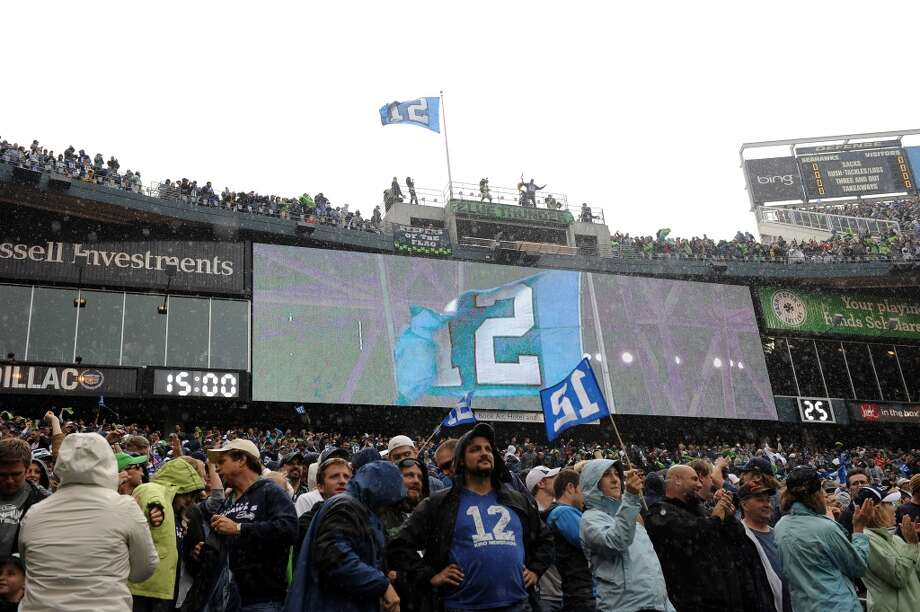 The 12th Man – So they don't have any female fans? Photo: Harry How, Getty Images