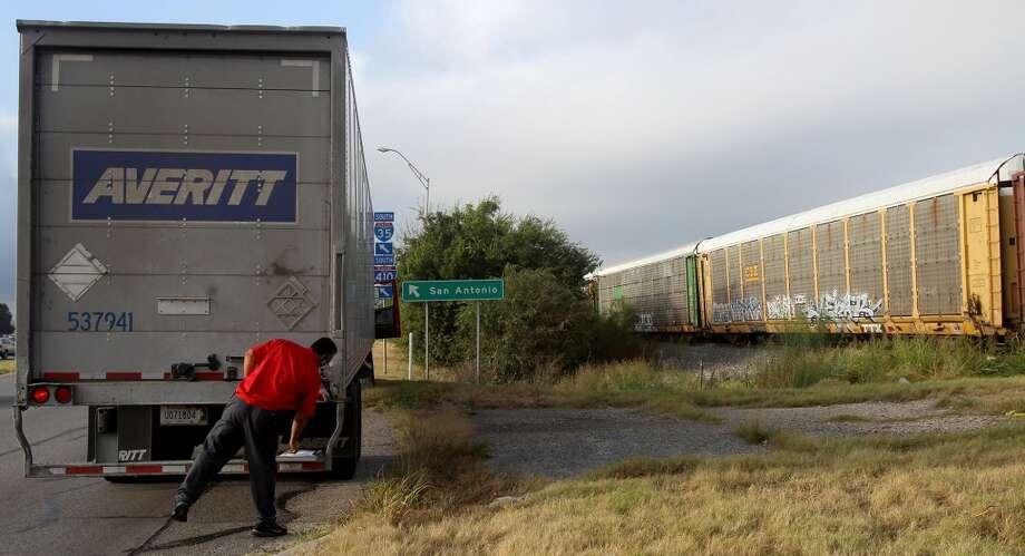 Last year, transportation inspectors earned an average of $66,470.Source:Bureau of Labor Statistics Photo: JOHN DAVENPORT, SAN ANTONIO EXPRESS-NEWS