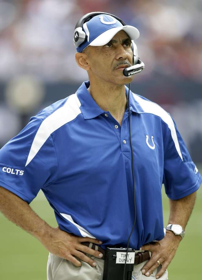 Tony Dungy  Head coach; Tampa Buccaneers (1996-2001), Indianapolis Colts (2002-2008) Photo: Brett Coomer, Chronicle