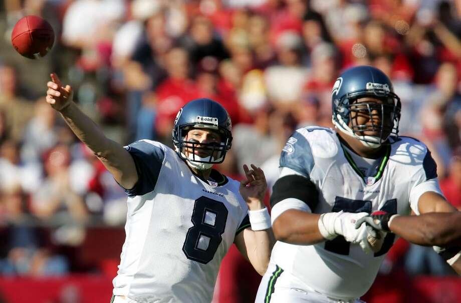 Walter JonesLeft tackle; Seattle Seahawks (1997-2008) Photo: Jeff Chiu, Associated Press
