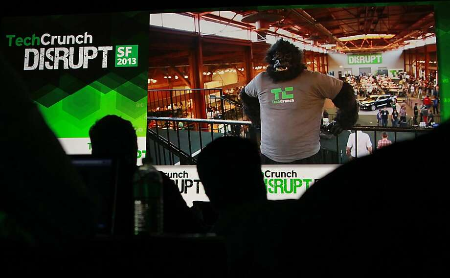 View of the stage at TechCrunch Disrupt 2013  in San Francisco, California, on Wednesday, September 11, 2013. Photo: Liz Hafalia, The Chronicle
