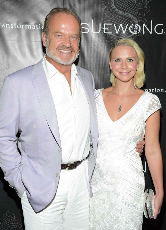 Kelsey Grammer, pictured in 2013 with and wife Kayte Walsh. Photo: Michael Kovac, - / 2013 Getty Images