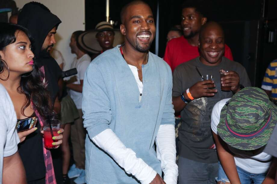 "Kanye West attends the ""MNIMN"" listening event at Industria Superstudio on September 11, 2013 in New York City.  (Photo by Johnny Nunez/WireImage) Photo: Johnny Nunez, WireImage"