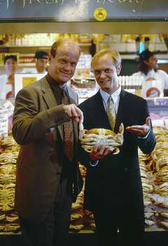"Seattle's TV show has to be ""Frasier."" But stars David Hyde Pierce  and Kelsey Grammer were rarely in Seattle. The more adventuresome might pick ""Twin Peaks."" Photo: NBC, - / © NBC Universal, Inc."