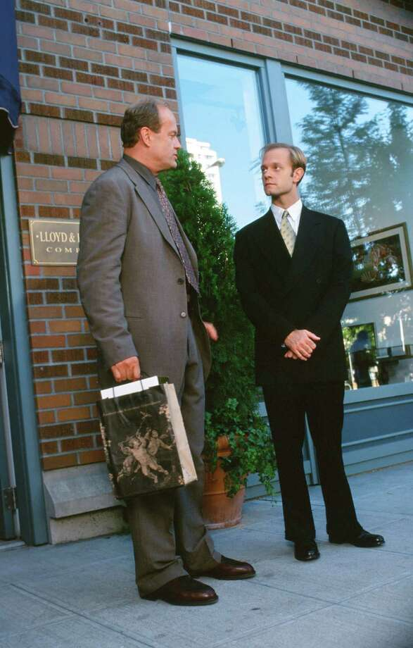 Kelsey Grammer as Doctor Frasier Crane, David Hyde Pierce as Doctor Niles Crane. Photo: Alice S. Hall, - / © NBC Universal, Inc.