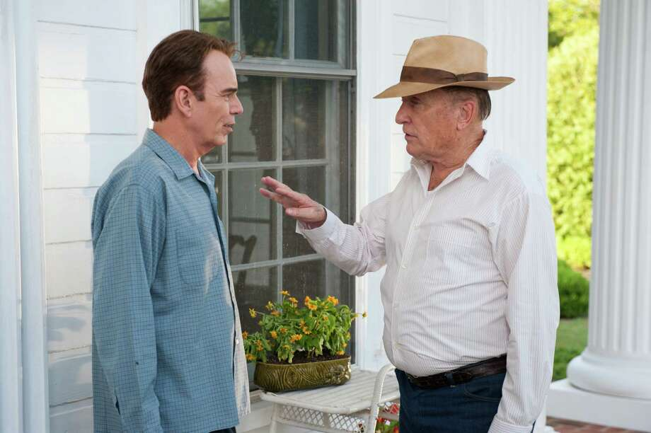 "Billy Bob Thornton, left, and Robert Duvall star in ""Jayne Mansfield's Car."" Photo: --"
