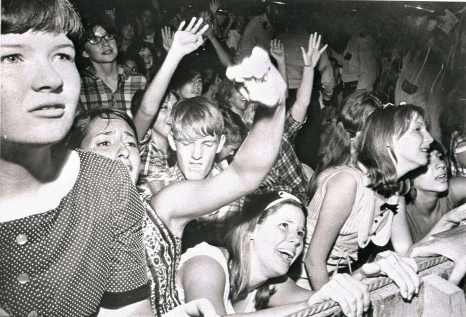 My first concert was when I was 10. We saw The Beatles evening concert on August 19, 1965 at the Coliseum. The ticket was 5.00. You could only hear pieces of them singing because of all the girls screaming! David Averre Photo: © Houston Chronicle