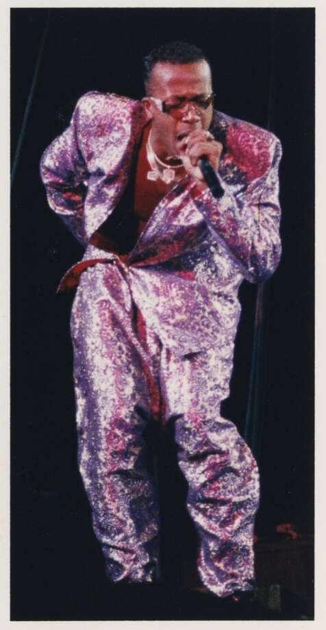 """MC Hammer around 1989 or 1990 at the Summit. I was annoyed by the girl who kept screaming """"Please Don't hurt em Hammer."""" Patrick Photo: Howard Castleberry, Houston Chronicle"""