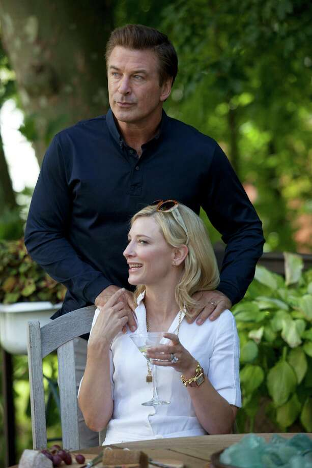 "In this publicity image released by Sony Pictures Classics shows Alec Baldwin and Cate Blanchett in a scene from ""Blue Jasmine."" (AP Photo/Sony Pictures Classics)  ORG XMIT: NYET121 ORG XMIT: MER2013072214003192 / Sony Pictures Classics"