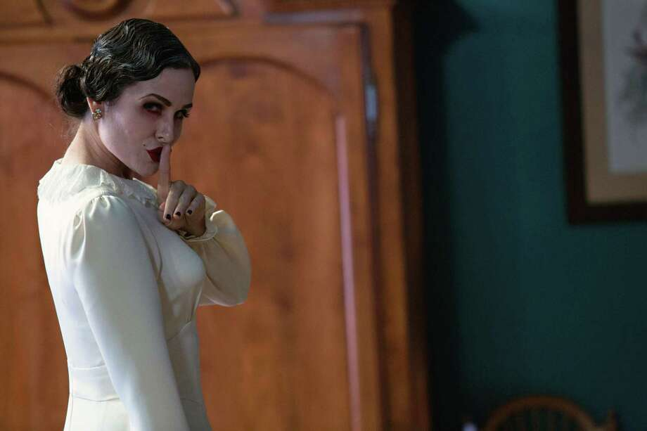 """This film image released by FilmDistrict shows Danielle Bisutti in a scene from """"Insidious: Chapter 2."""" (AP Photo/FilmDistrict, Matt Kennedy) ORG XMIT: NYET523 Photo: Matt Kennedy / FilmDistrict"""