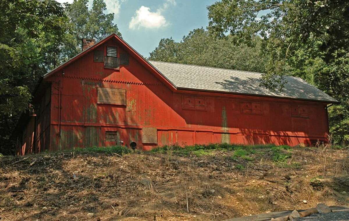 The red barn on Merribrook Lane in Stamford as captured through the lens of photographer, Bob Callahan.