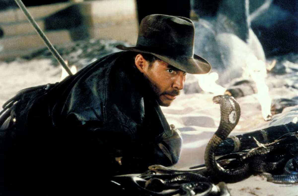 At the request of Steven Spielberg, George Lucas bowed to the inevitable and gave Indiana Jones' hat and whip to Harrison Ford. But Lucas really wanted Indy to be played by...