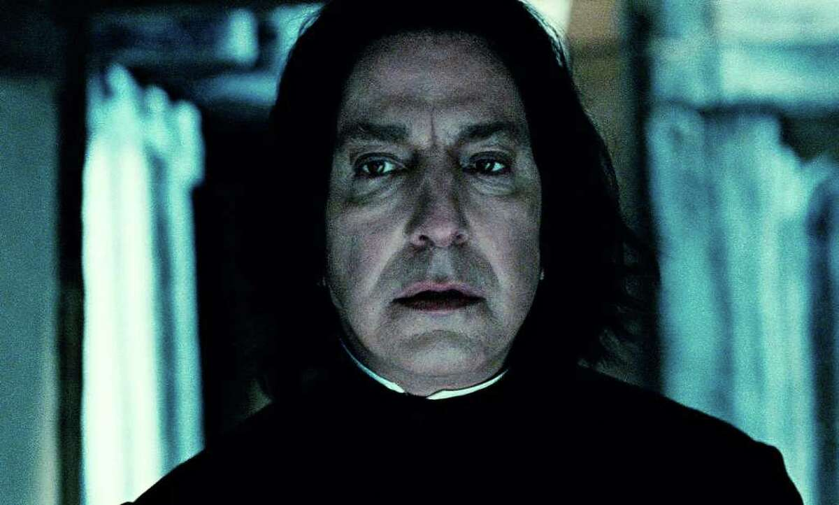 The role of the evil (or is he?) wizarding professor Severus Snape in the