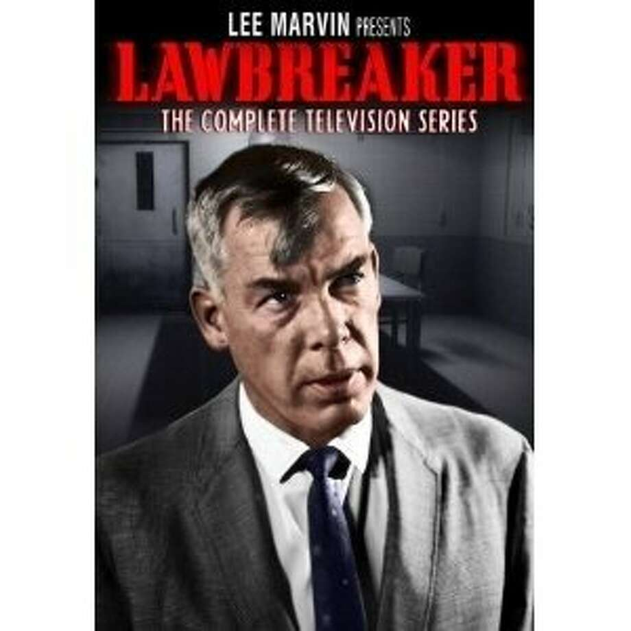 """Lee Marvin's """"Lawbreaker"""" DVD cover Photo: Timeless Media Group"""