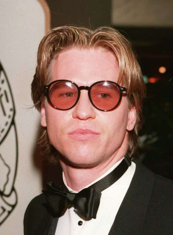 """Val Kilmer, pictured, and Billy Zane. Zane's test shots with Jennifer Grey didn't click, and Kilmer didn't want to become a movie """"hunk."""" / AP1995"""