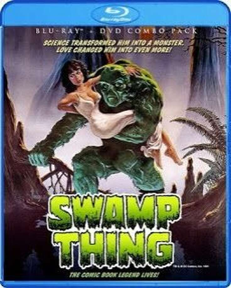 DVD cover: Swamp Thing Photo: Shout Factory