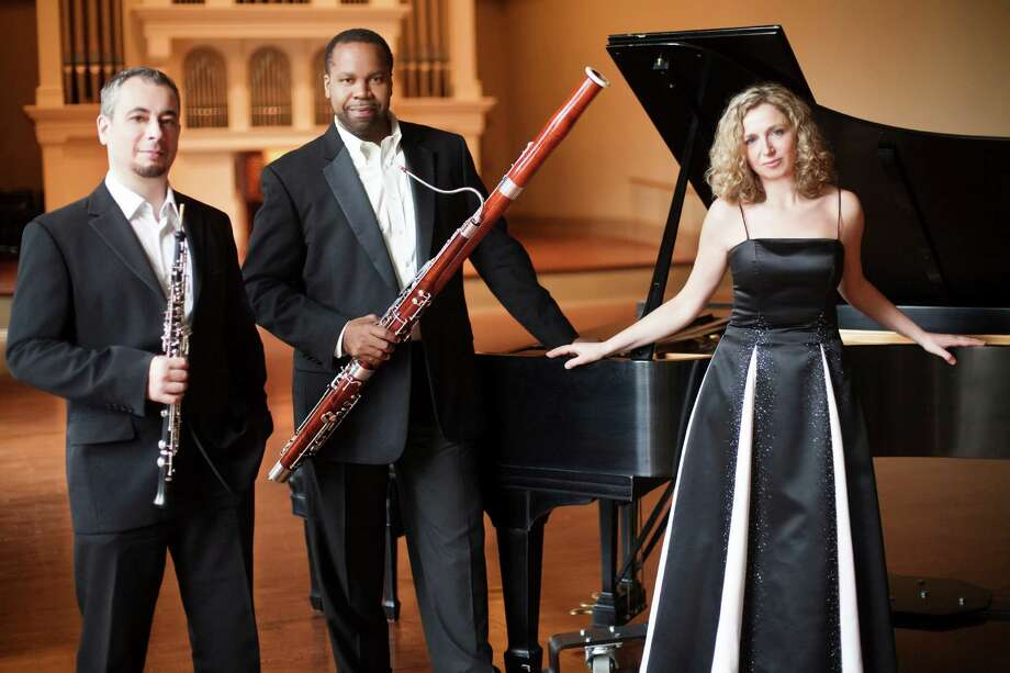 Poulenc Trio will perform in Newtown this Sunday, Sept. 22. The 3 p.m. concert will be at Edmond Town Hall Theater. Photo: Contributed Photo