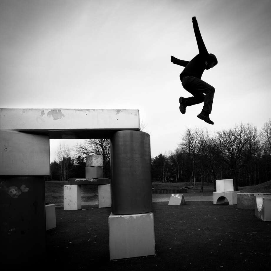 Writer Jacquelyn Mitchard made a list of 22 activities folks over 50 should simply abandon.  Here, thanks to AARP, are her top 10 ...  1. Parkour Photo: Peter Ohlsson, FlickrVision