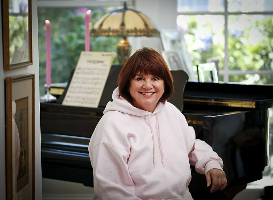 Linda Ronstadt, who can no longer sing because of Parkinson's disease, at home in the Richmond District. Photo: Russell Yip, The Chronicle