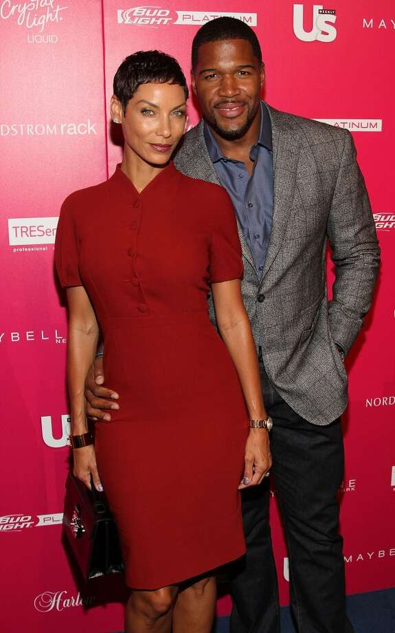 Nicole Murphy & Michael Strahan attend the Us Weekly's Most Stylish New Yorkers Party at Harlow on September 10, 2013 in New York City.  (Photo by Manny Carabel/Getty Images) Photo: Manny Carabel, Getty Images