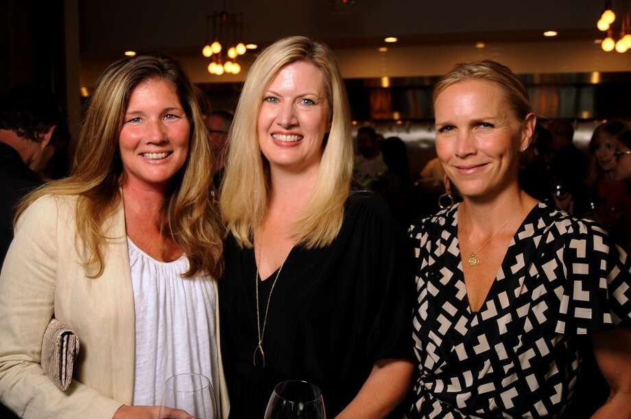From left: Julie McGarr, Margaret Cooper and Heather Houston Photo: Dave Rossman, For The Houston Chronicle