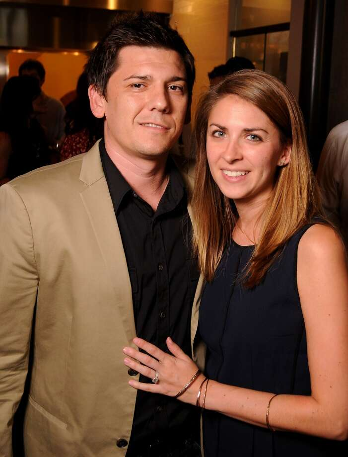 Adam and Brittany Branscum Photo: Dave Rossman, For The Houston Chronicle