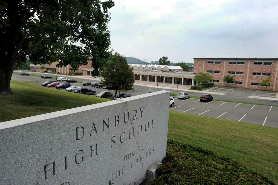 Danbury High School, on Clapboard Ridge Road in Danbury, Conn. Thurs. Sept. 12, 2013. Photo: Carol Kaliff / The News-Times