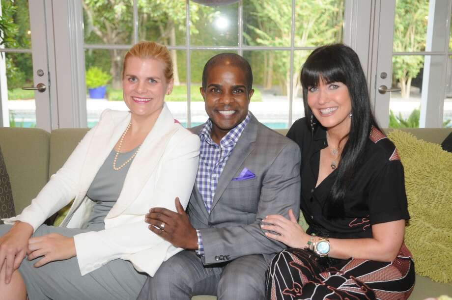 Gala Co-Chairs Liz Gorman, left, Alton LaDay, and Tiffany Halik Photo: Daniel Ortiz